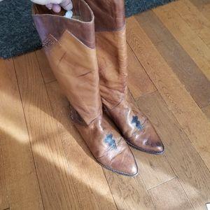 Vintage 80's boots